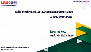 Agile Testing and Test Automation 2020 - Pune