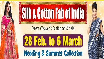 Silk and Cotton Fab of India