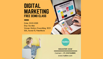FREE DEMO CLASS - DIGITAL MARKETING CERTIFICATION COURSE