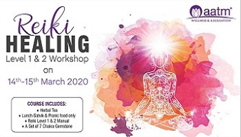 Reiki Healing Level 1 and 2 Workshop