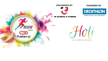 Run with kalenji - Holi Celebration