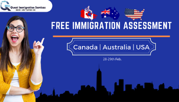 Free Canada Australia and USA Immigration Assessment