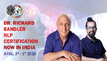 DR. RICHARD BANDLER NLP CERTIFICATION NOW IN INDIA