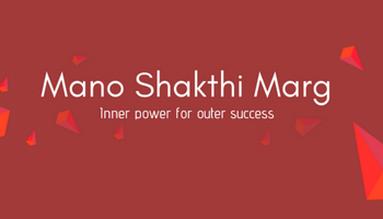Law of attraction and Mano Shakthi Marg.