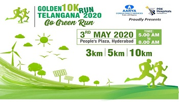 Golden Telangana 10K Run 2020