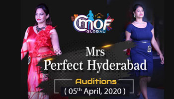 Mrs Perfect Hyderabad 2020 cmof global
