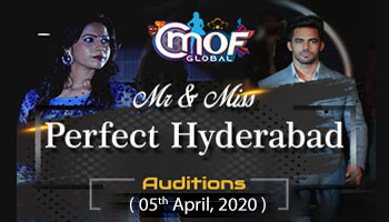 Mr and Miss Perfect Hyderabad  2020 cmof global