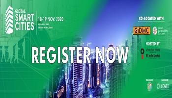 Global Smart Cities India 2020 expo ,18 - 19 November 2020 | New Smart Cities in India | India Expo Mart | Greater Noida
