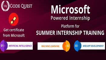 CodeQuest Summer Internship Program 2020