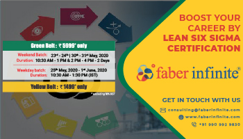 Lean Six Sigma Certification by Faber Infinite Consulting