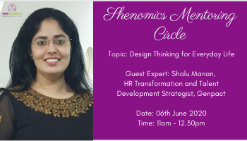 Shenomics Mentoring Circle - Design Thinking for Everyday Life