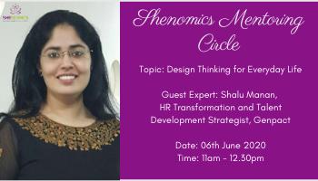Shenomics Mentoring Circle - Design Thinking for Everyday Life