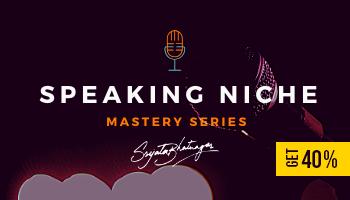 Speaking Niche Mastery Series By Srijata Bhatnagar