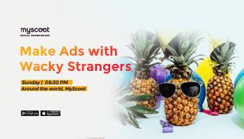 Make Ads with Wacky Strangers
