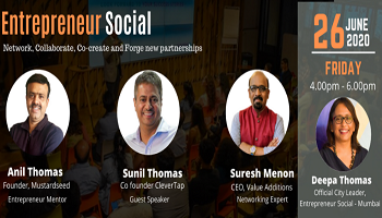 Online Business Learning and networking event - Entrepreneur Social