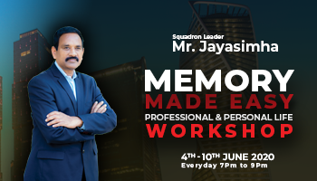 Memory Made Easy Professional and Personal Workshop