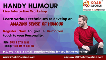 Handy Humour Workshop