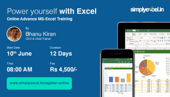 Online Advanced Excel Training