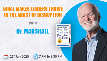 WHAT MAKES LEADERS THRIVE IN THE MIDST OF DISRUPTION