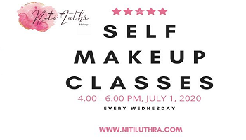 SELF MAKE UP CLASSES BY NITI LUTHRA