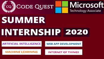 CodeQuest Summer Internship Program 2020 2nd Batch copy