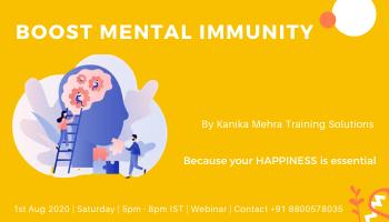 Boost Mental Immunity
