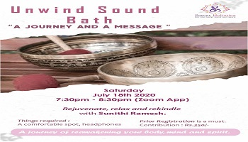 UNWIND SOUND BATH  -  A Journey and a Message