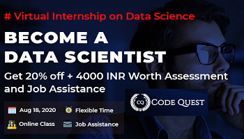 CodeQuest  Internship Program 2020