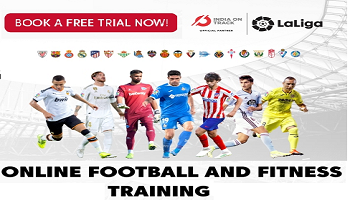 Laliga Football School at home - Online Fitness and Football training