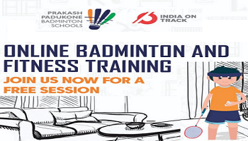 Prakash Padukone Badminton Schools at home - Online Fitness and Badminton training