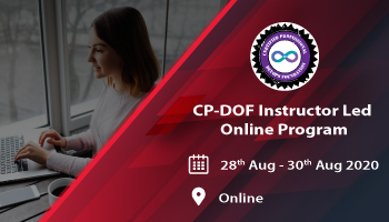 CP-DOF (Certified Professional - DevOps Foundation) Instructor Led Online Program