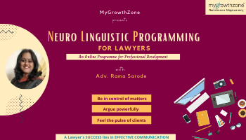 Neuro Linguistic Programming for Lawyers