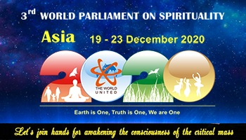 3rd World Parliament on Spirituality - Asia