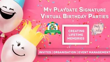 My Playdate Virtual Birthday Parties