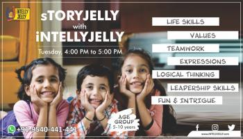 sTORYJELLY with iNTELLYJELLY
