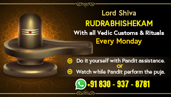Lord Shiva (Eka Rudra) Rudrabhishekam
