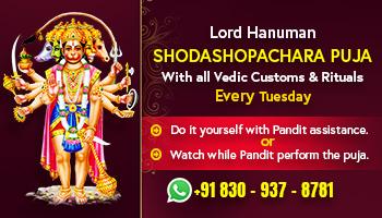 Lord Hanuman Puja