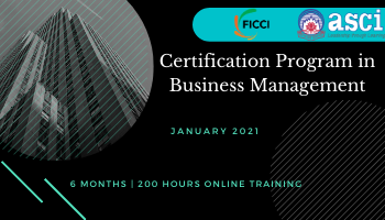 Professional Certification Programme in Business Management