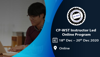CP-WST Instructor Led Online (Certified Professional - Web Services Testing)