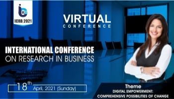 International Conference on Research in Business (ICRB 2021)