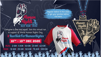 Human Rights Day Run - Ride