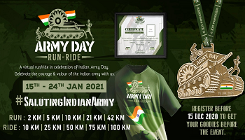 Army Day Run - Ride