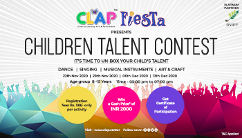 CLAP Fiesta presents Children Talent Contest