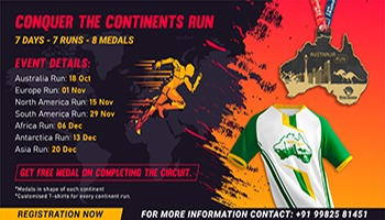 Conquer The Continents Run