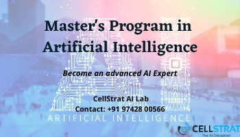 Masters Program in Artificial Intelligence (by CellStrat AI Lab)