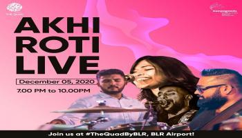 Akhi Roti Live at The Quad by BLR