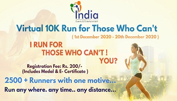 Virtual 10K Run for Those Who Cant 2020