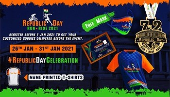 Republic Day Run-Ride 2021