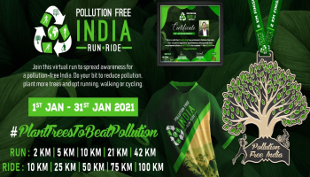 Pollution Free India Run - Ride