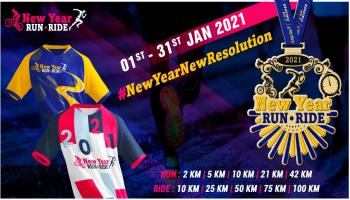 New Year Run - Ride 2021